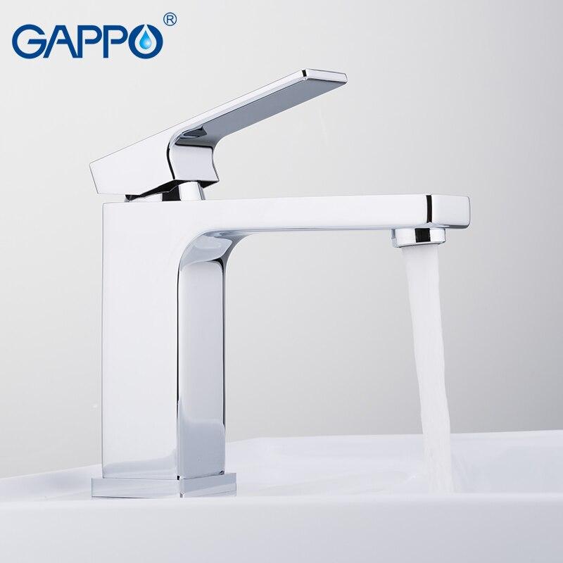 GAPPO, смеситель для воды, кран для раковины, кран для ванной комнаты, смеситель, латунный кран, водопад, унитаз, кран для ванны, краны на бортике