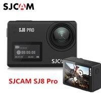 В наличии SJCAM SJ8 Pro 4 К 60fps спортивные Камера Водонепроницаемый Anti Shake двойной Сенсорный экран WiFi удаленного Управление действие камера Спорт