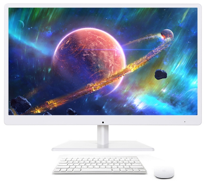 All In One DIY PC Desktop With CPU I3/i5/i7 RAM 2GB/4GB/8gb HDD 120Gb/1tb 18.5 22 24 27inch LCD HD 1080p Monitor