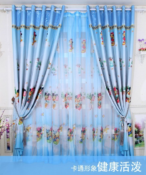 Aliexpress.com : Buy Hot sale cartoon curtains for living room of ...