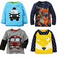 Retail Brand 2016 New 100% Cotton BoysT-shirt  Top Long Sleeve Tshirts Boys TopChildrens Kids Chothing Full Sleeve Spring Autumn