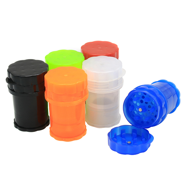 Drop Shipping Er Size Ekj Acrylic Plastic Herb Grinder Airtainer Herbal Storage Smoking Weed