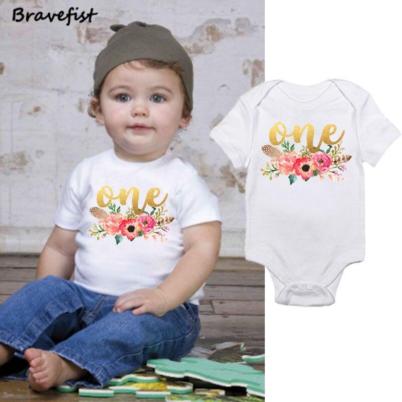 Золотой Цветочные Детские Боди 0-24Months летняя детская одежда с короткими рукавами наряды для младенцев Комбинезоны Мода Костюмы Onesie