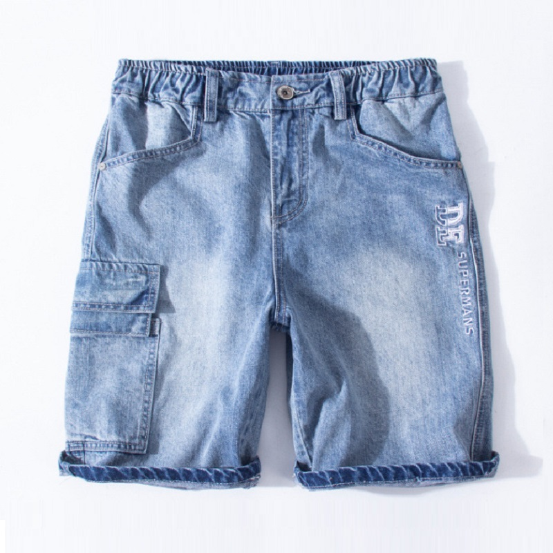 Image 3 - Denim Shorts Male Plus Size 4XL 5XL 6XL 7XL Jeans Shorts Men 