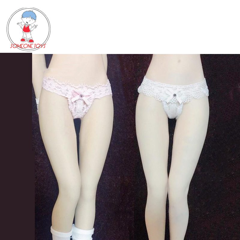 PL75 Underpants Model 1//6 scale White Knickers For 12'' Action Figure Doll Toy