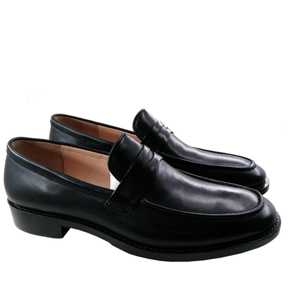 Cuero Topsiders On s9501 Sipriks B Auténtico Negocio Trabajo Slip Vestido Jefe Clásico A Hombres Mens Mocasines Pisos S9501 Penny Partido Negro Zapatos 60twRg0q