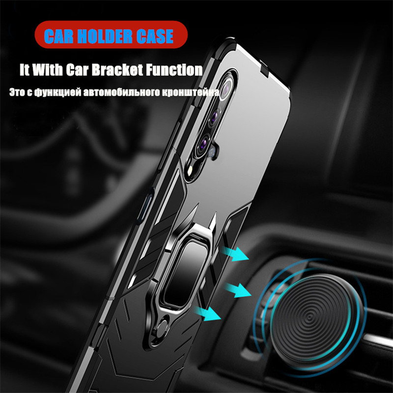 Case For Huawei Honor 20 20i 20 Pro 9X 8i 8S 8X MAX Holder Magnetic Back Cover For P Smart Y6 Y9 Prime 2019 V20 V10 Armor Cases