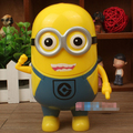LED Rechargable Minions Desk Lamp Children Light Fold Table Lamp Piggy Bank For Living Room Bedroom Study Night Light 220V 110V