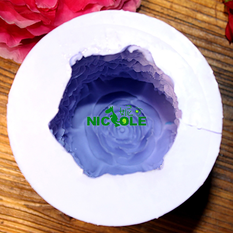 Molde de silicona Nicole para la vela de jabón hecha a mano que hace - Cocina, comedor y bar - foto 4