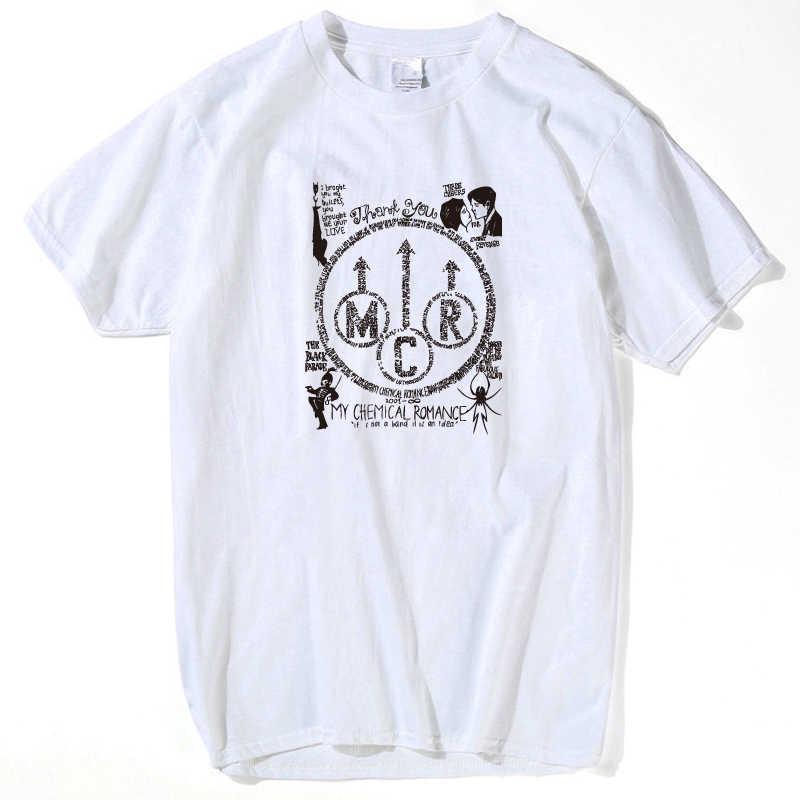 パンクシャツマイ · ケミカル · ロマンス Tシャツ男性トップス 2018 トップス男性おかしい tシャツホット販売ヒップホップストリートプラスサイズ