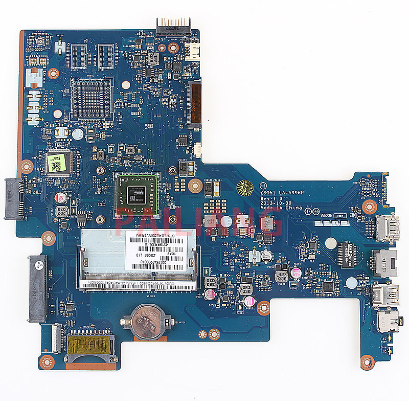 PAILIANG Laptop Motherboard For HP 15-G 255 G3 EM2100 PC Mainboard 752783-001 752783-501 ZS051 LA-A996P Tesed DDR3