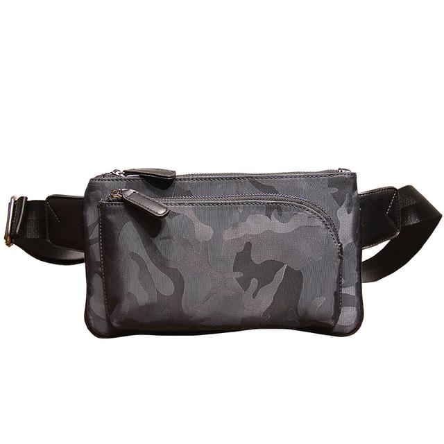 2017 Nuevo Diseño de Moda de Camuflaje Paquete de la Cintura Bolsa de Fanny Multi Ocio Del Recorrido Del Teléfono Móvil Pequeñas Bolsas # 6711MC