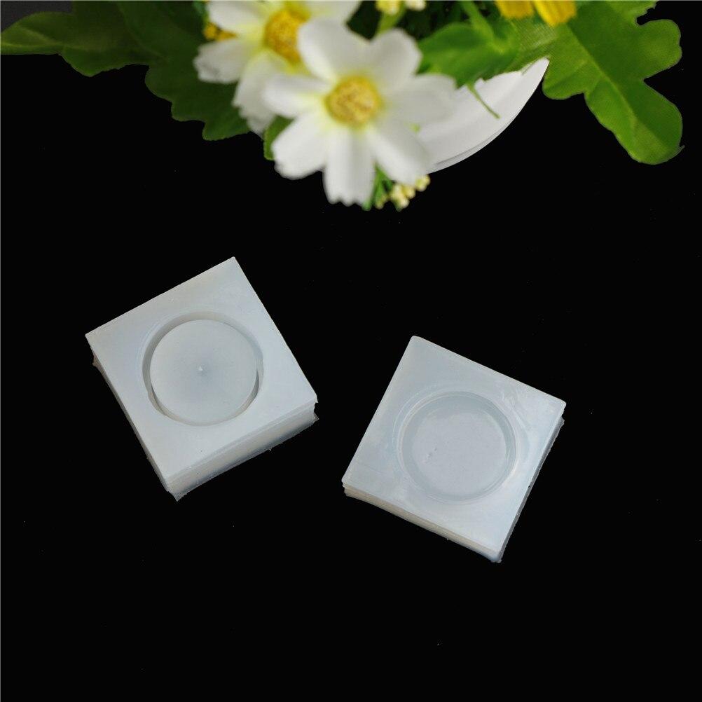 2pcs/set DIY Silicone Storage Box Mold Epoxy Resin Casting Jewelry Mould Craft Tool