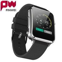 Pinwei pwm88 dokunmatik ekran bluetooth smart watch ile kamera için apple destek whatsapp nabız kol smartwatch