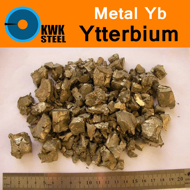 Yb Ytterbium Bulk Block Distilled Pure 99.99% Periodic Table of Rare-earth Metal Elements Research Study Education Collection genuine taiwan research anv time relay ah2 yb ac220v