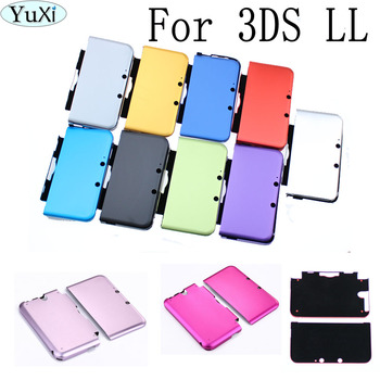 цена на High Quality Muliti Color Aluminum Hard Metal Box Protective Skin Cover Case Shell For Nintendo 3DS XL/LL Case Game Accessories