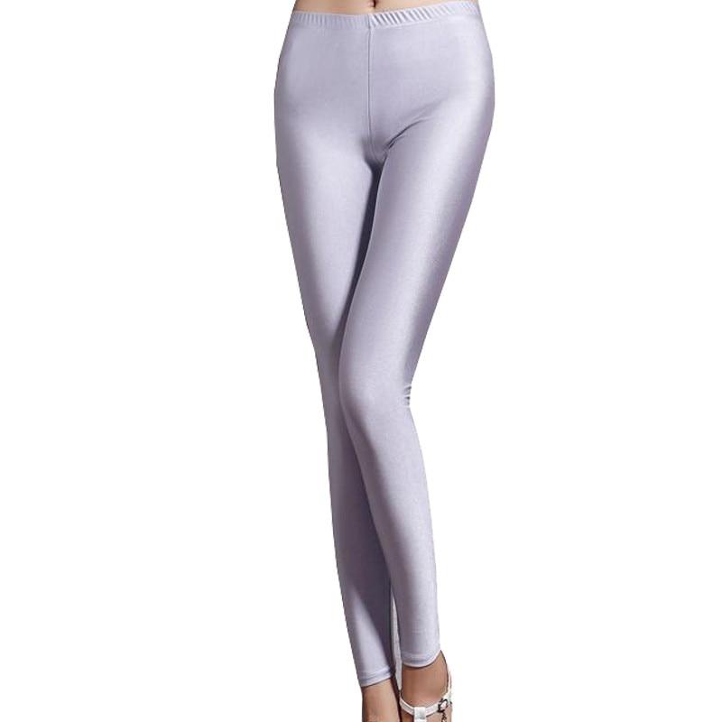 e921cab8fe Spandex leggings one size black white women leggings colors shiny lycra  neon leggings high waist stretch