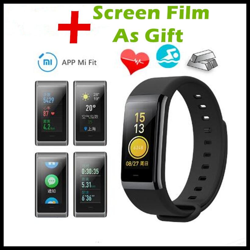 все цены на Original Xiaomi Huami Amazfit Midong Band Color Smart Wristband Multi-language-App IPS 1.23
