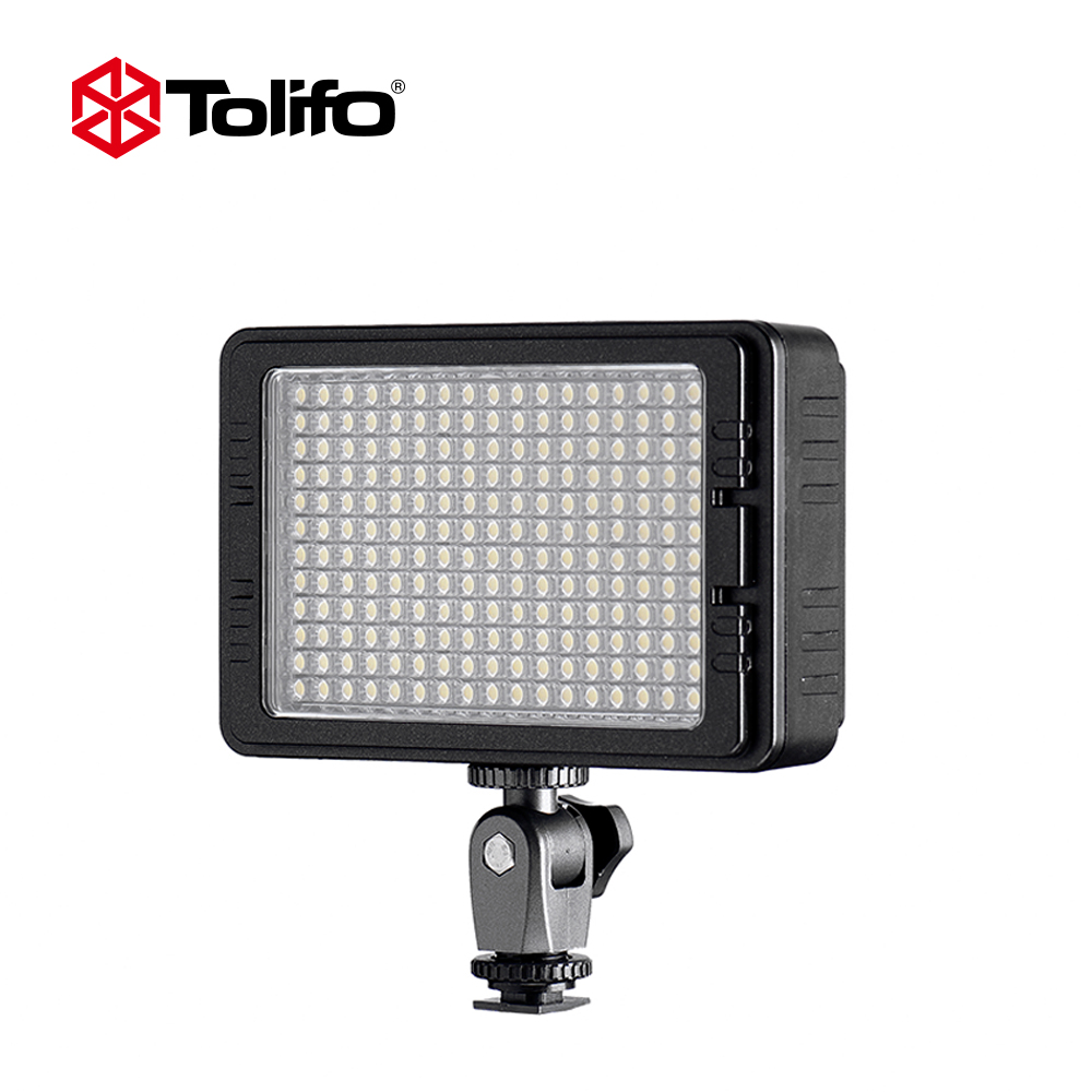 Tolifo PT 204b 204 Bright LEDs Bi color 3200K 5600K LED Video lighting Equipment for Canon Nikon and other DSLR Photography-in Photographic Lighting from ...  sc 1 st  AliExpress.com & Tolifo PT 204b 204 Bright LEDs Bi color 3200K 5600K LED Video ...
