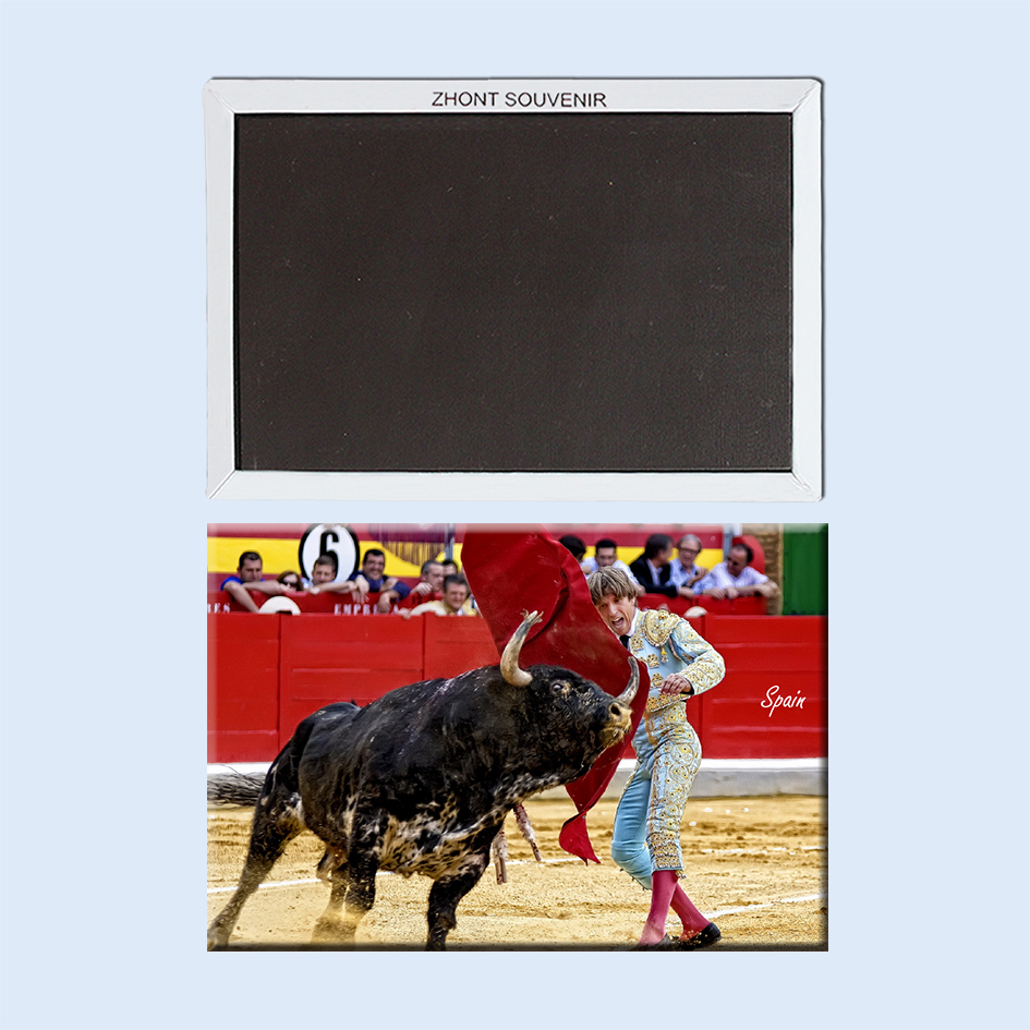 The matador spain 22677 gifts for friends ,Souvenirs of Tourist Landscape Magnetic refrigerator