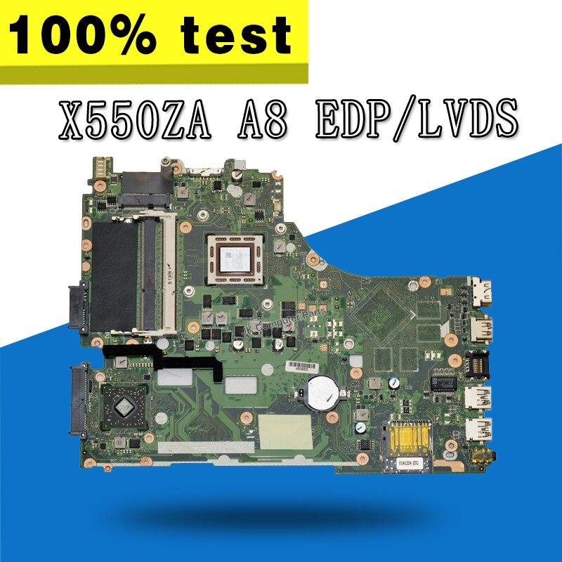 X550ZA Motherboard A8 CPU For ASUS A550Z K555Z K550z X555Z VM590Z Laptop motherboard X550ZA Mainboard X550ZA Motherboard test okX550ZA Motherboard A8 CPU For ASUS A550Z K555Z K550z X555Z VM590Z Laptop motherboard X550ZA Mainboard X550ZA Motherboard test ok