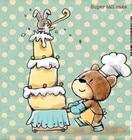 Lovely bear rabbit c...