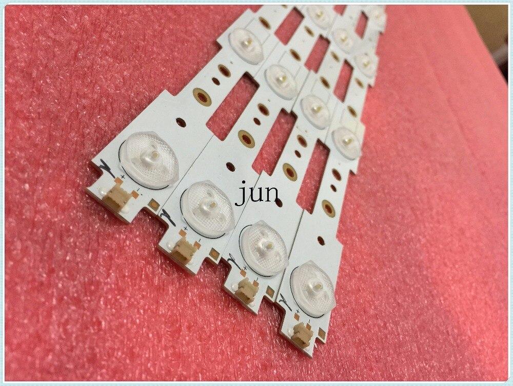 20pcs/lot  Original 39 Inch LED Strips W/Optical Lens Fliter Large Size For 32E306 32E350E 32'' TV Monitor New