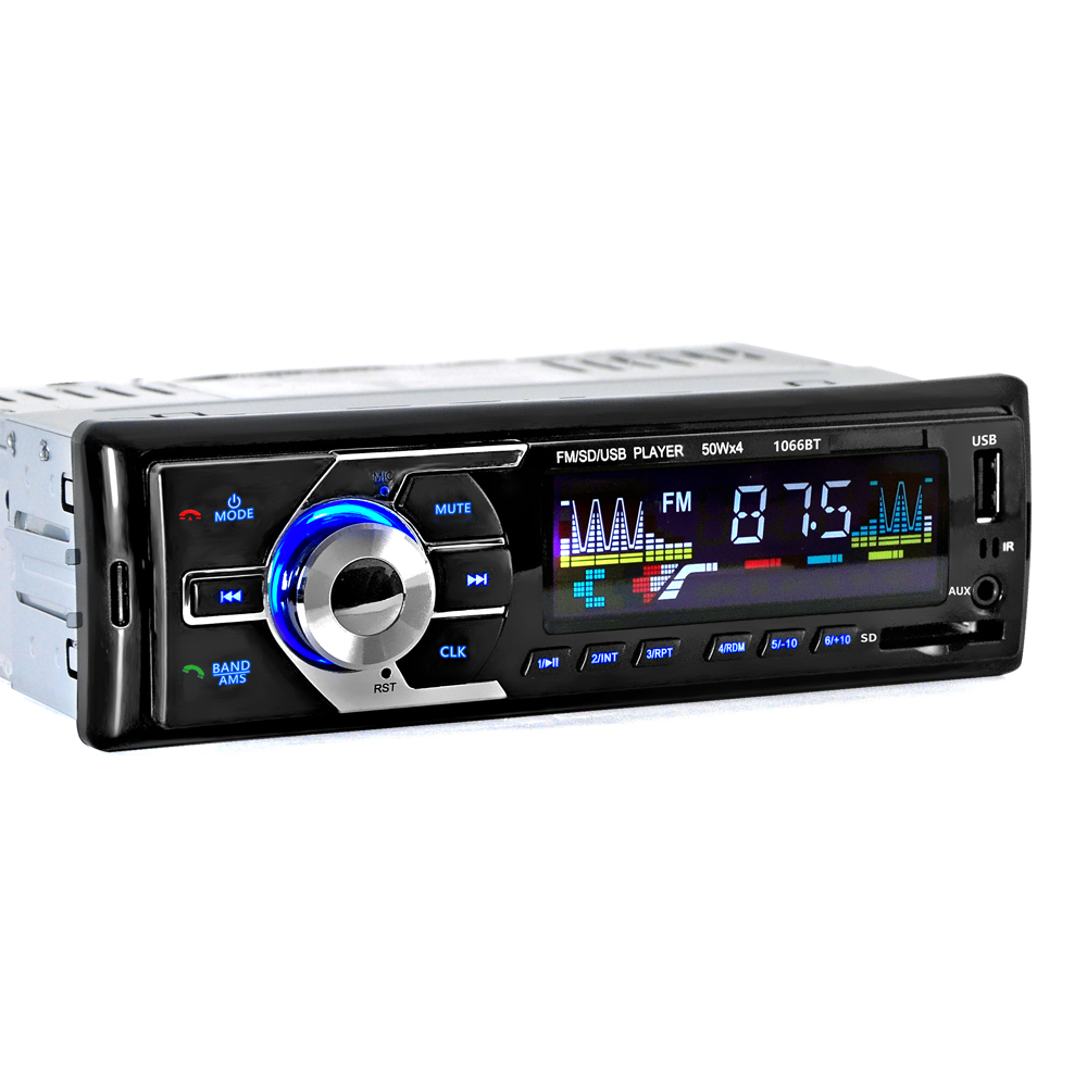 2017 new 12v car tuner stereo bluetooth fm radio mp4 audio player phone usb sd mmc port car. Black Bedroom Furniture Sets. Home Design Ideas