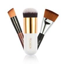 Fundación Pincel de Maquillaje 3 unids/set para Imprimación En Polvo Rubor Profesional Mango De Madera Belleza Herramienta Cosmética de Las Mujeres Esenciales