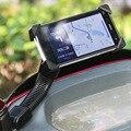 Universal de la motocicleta soporte para teléfono móvil soporte para iphone 7 4 5S 6 plus gps motor de montaje del espejo retrovisor moto todas las llamadas teléfono