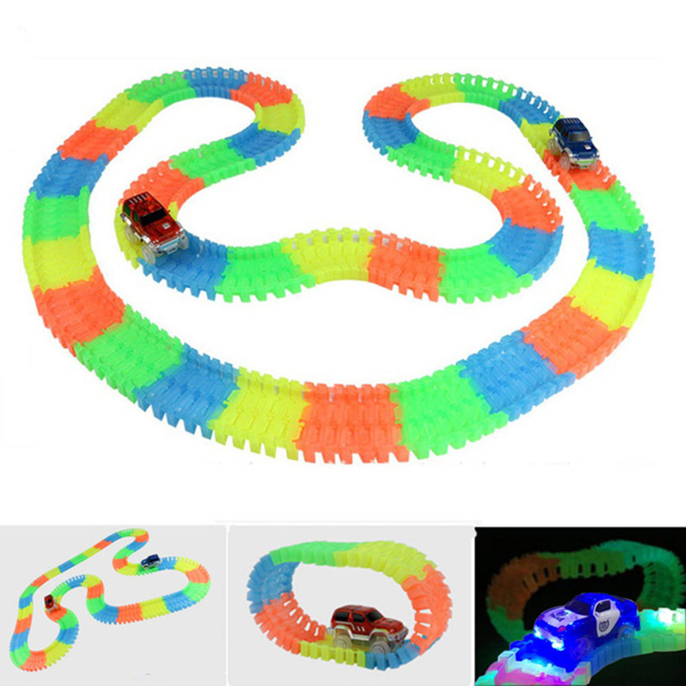LED-Light-up-Cars-for-Tracks-Electronics-Car-Toys-With-Flashing-Lights-Fancy-DIY-Toy-Cars-For-Kid-Tracks-parts-Car-for-Children-5