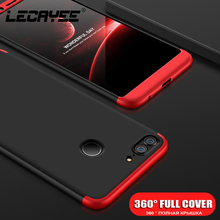 LECAYEE Matte Case For Huawei Honor 7A 7C 6C Pro 10 9 Lite 360 Full Cover for Mate P20 With Glass