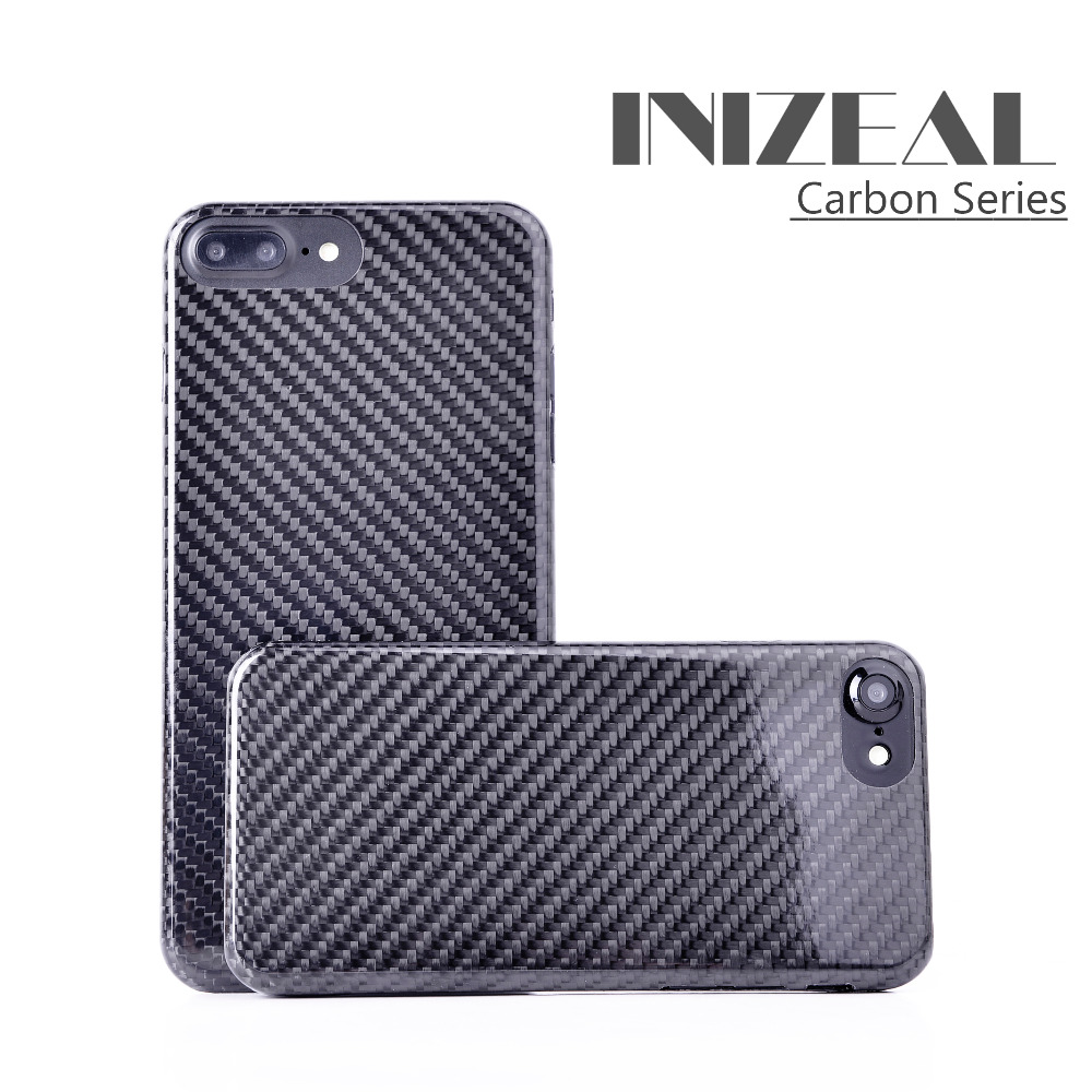 Super Sports Car 100%Real Carbon Fibe For iphone X Case Ultra-light Cover Mobile Phone Case For Apple iPhone8 7 Plus Carbon Case