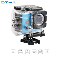 OTHA 4K Action Camera Helmet Sport Cam Head Video Bike Cameras Waterproof WIFI Full HD 1080P