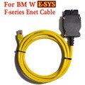 ESYS 3.23.4 V50.3 Dados Cabo Para bmw ENET Ethernet para OBD OBDII 2 cabo de Dados Interface E-SYS ICOM Codificação para F serie-Navio Livre