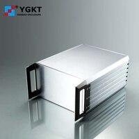 229*132-250mm (wxhxd) 3u carcasa de aluminio para servidor pcb carcasa de aluminio para extrusión