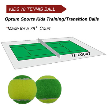 12pcs Beginner Child or Adult Training (Transition) Practice Tennis Balls (25%-75% Slower Ball Speed) 23