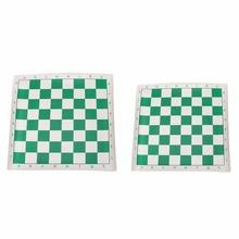 Искусственная кожа шахматная доска стандарт международные Шахматы Детские развивающие игры шахматы развлечения