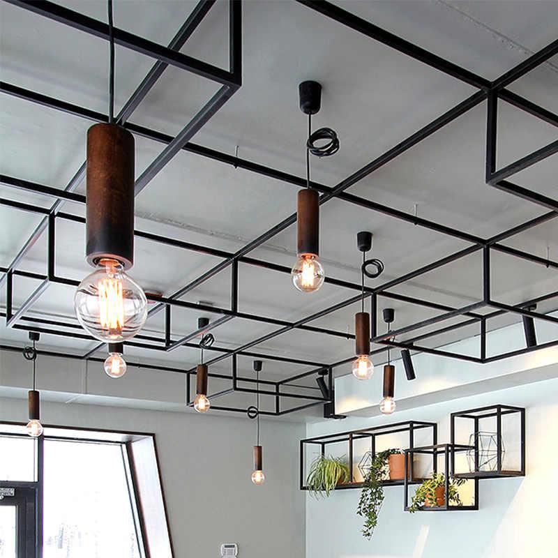 Светодиодный потолочный светильник G80G95G125 E27 220 Vretro стиль лофт нити светодиодный лампы, люстры веревка лампа американская люстра лампа Эдисона лампа накаливания