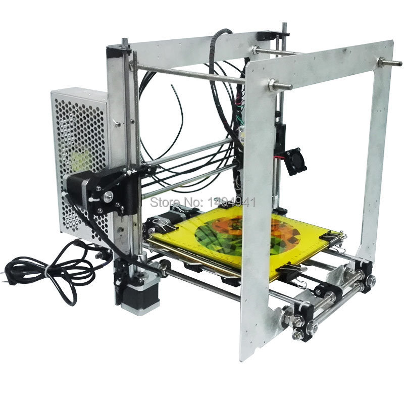 aliexpresscom buy 3d printer diy kit reprap mendel prusa i3 dual alu frame with free filament and spare parts print abs and pla filament hot sale from
