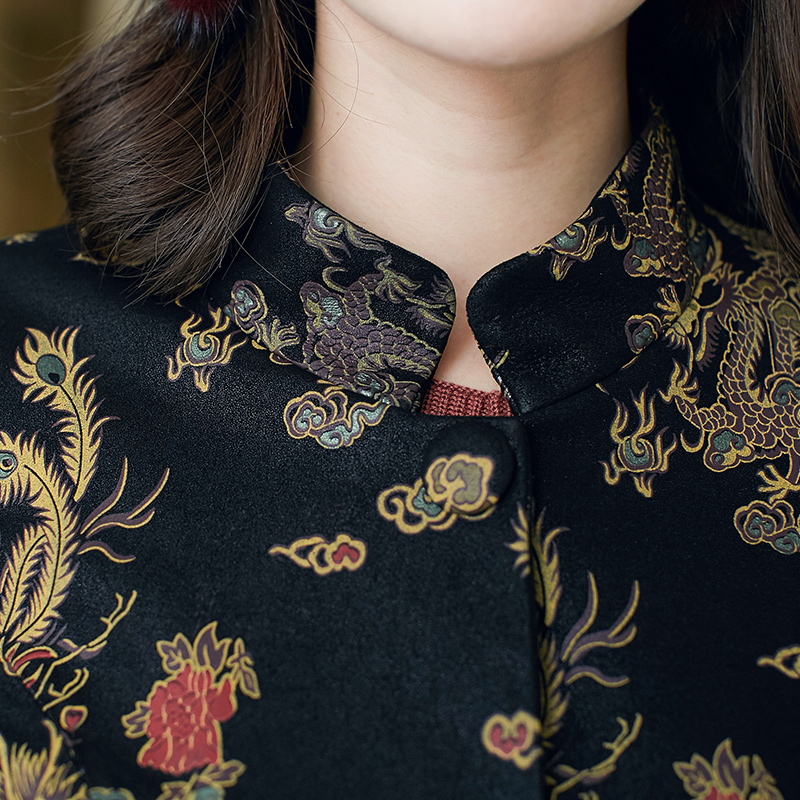 Long Survêtement De Hiver Femelle En vent Photo Cuir Femmes Mouton Veste Rétro Coupe Peau Automne Chinois Color Manteau Et Véritable CW4OO5