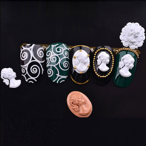 3D акриловая Форма для резьбы, для украшения ногтей, DIY дизайн, мягкий силикон, для дизайна ногтей, цветы, лист, узор, для дизайна ногтей
