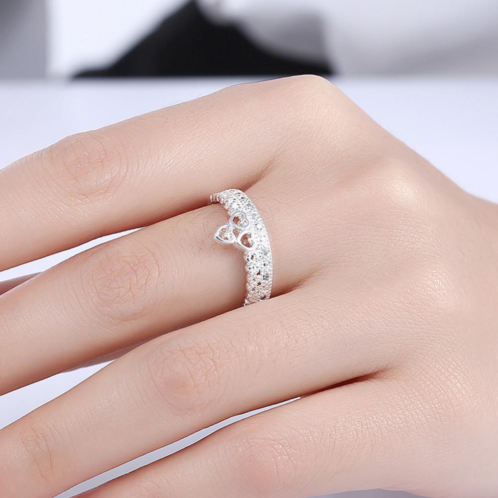 Fashion Heart Shape Crown AAA Cubic Zircon Wedding Bridal Women ...
