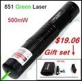 [ Redstar ] лазерная 851 зеленая лазерная указка 500 МВт красная лазерная указка алюминиевые лазерный 5000 м диапазон с 16340 и зарядное устройство