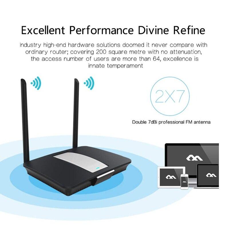 Gerade Netzwerke Router 300 Mbps Durch Wand Dual Band High Power Router Sl @ 88 Ausgezeichnete (In) QualitäT