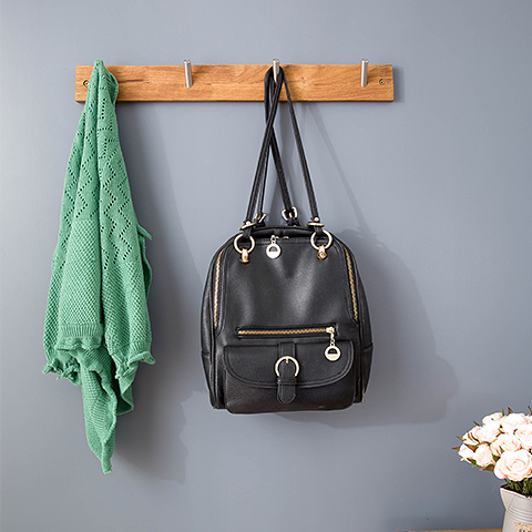 nordic yield foyer bedroom creative wall wood coat rack hangers strength stainless steel hooks ikeain handles u0026 knobs from home improvement on - Luggage Racks For Bedrooms