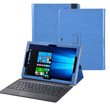 For CHUWI Surbook Tablet Case Newest Print Pattern PU Leather 2 in 1 Tablet and Keyboard Cover for Chuwi Surbook 12.3 Case+Gift