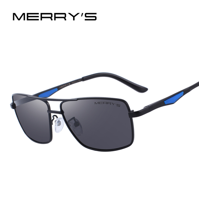 13876f03d072 MERRY S DESIGN Men Polarized Rectangle Sunglasses For Driving Fishing UV400  Protection S 8159