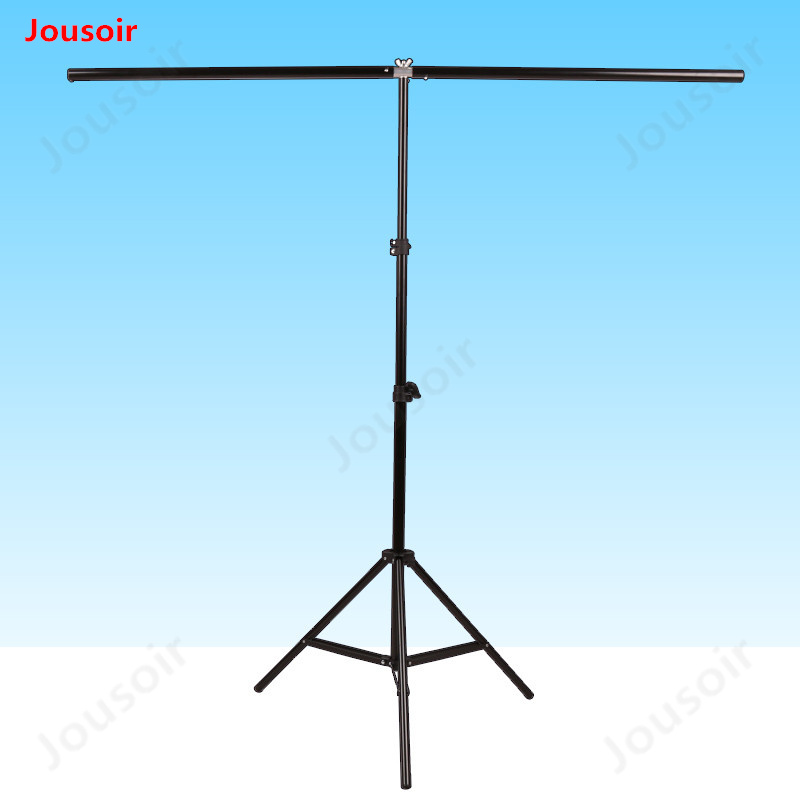 140*200cm Photo Backdrop Stand Photo Studio Background Support big PVC Background Holder Photo Stand with 2 clamps CD50 T02