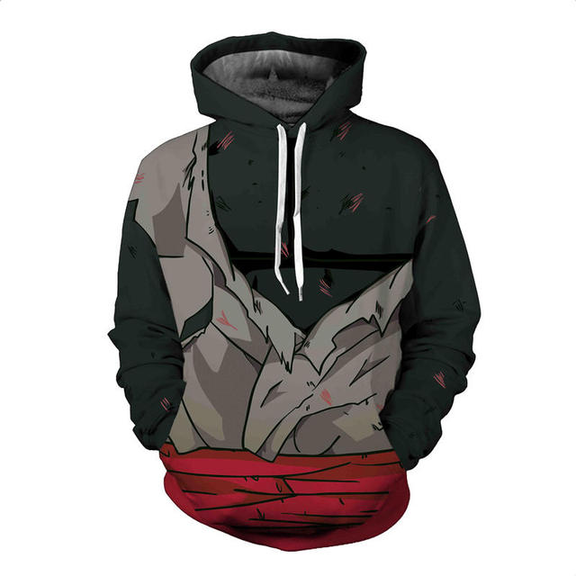 3D Dragon Ball Naruto Sweatshirts Hoodie